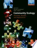 Community Ecology Book PDF