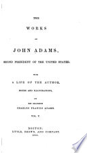 The Works of John Adams  Second President of the United States