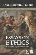 Essays on Ethics Book
