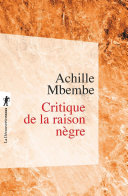 Critique de la raison nègre [Pdf/ePub] eBook