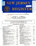New Jersey Register Book