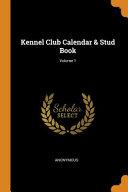 Kennel Club Calendar Stud Book