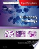 Pulmonary Pathology E Book