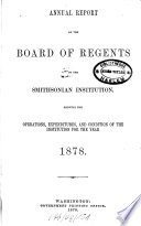 Annual report of the Board of Regents of the Smithsonian Institution0