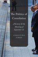 The Politics of Consolation Pdf/ePub eBook