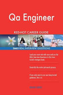Qa Engineer Red Hot Career Guide  2663 Real Interview Questions