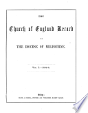 Church of England Record for the Diocese of Melbourne