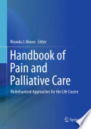 Handbook of Pain and Palliative Care Book