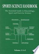 """Sports Science Handbook: I-Z"" by Simon P. R. Jenkins"