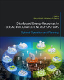 Distributed Energy Resources In Local Integrated Energy Systems Book PDF