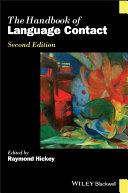 The Handbook of Language Contact Pdf/ePub eBook