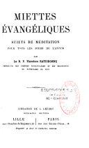 Miettes évangéliques