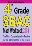4th Grade SBAC Math Workbook 2018