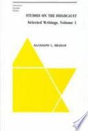 Studies on the Holocaust