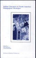 Italian Literature in North America