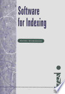 Software for Indexing