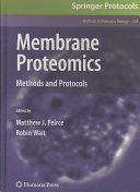 Membrane Proteomics