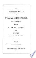 The Dramatic Works of William Shakspeare    Book