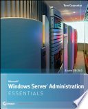 Microsoft Windows Server Administration Essentials Book PDF