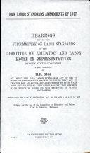Fair Labor Standards Amendments of 1977