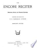 The Encore Reciter Book