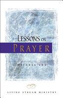 Lessons on Prayer [Pdf/ePub] eBook