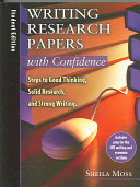 Writing Research Papers with Confidence Book
