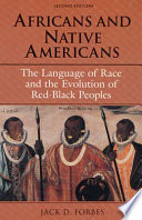 Africans And Native Americans PDF