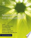 Nanomaterials for Green Energy Book