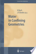 Water in Confining Geometries Book