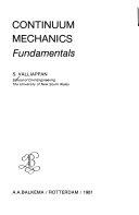 Continuum Mechanics Fundamentals