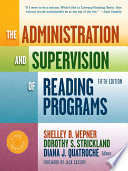 The Administration and Supervision of Reading Programs  Fifth Edition Book