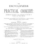 The Encyclop  dia of Practical Cookery Book
