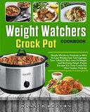 Weight Watchers Crock Pot Cookbook