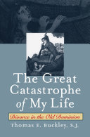The great catastrophe of my life: divorce in the Old Dominion