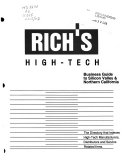 Rich S High Tech Business Guide To Silicon Valley And Northern California Book PDF