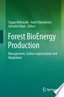 Forest Bioenergy Production Book PDF