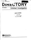 Directory of Offices