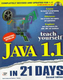 Teach Yourself Java 1.1 in 21 Days