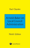 Arnold Baker on Local Council Administration