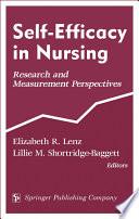 Self Efficacy In Nursing Book PDF