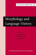 Morphology and Language History