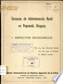Encuesta de Administracion Rural en Paysandu, Uruguay