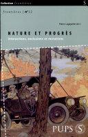 Nature et progr  s