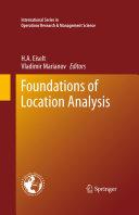 Foundations of Location Analysis [Pdf/ePub] eBook