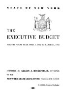 The Executive Budget State Of New York