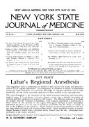 New York State Journal of Medicine