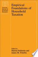 Empirical Foundations of Household Taxation