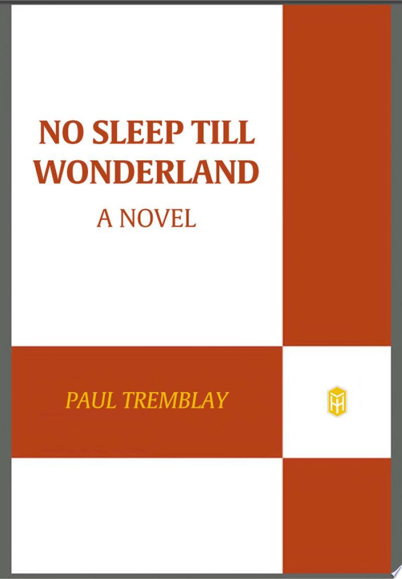 No Sleep till Wonderland banner backdrop
