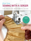 First Time Sewing with a Serger